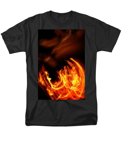 Heavenly Flame Men's T-Shirt  (Regular Fit) by Donna Blackhall