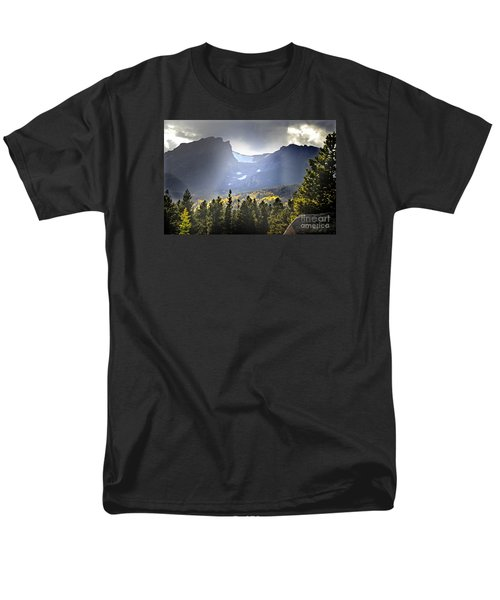 Men's T-Shirt  (Regular Fit) featuring the photograph Heavenly Rockies  Rmnp by Nava Thompson
