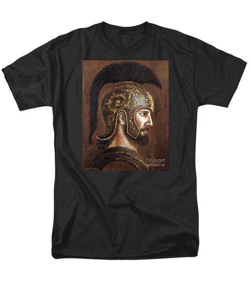 Men's T-Shirt  (Regular Fit) featuring the painting Hector by Arturas Slapsys