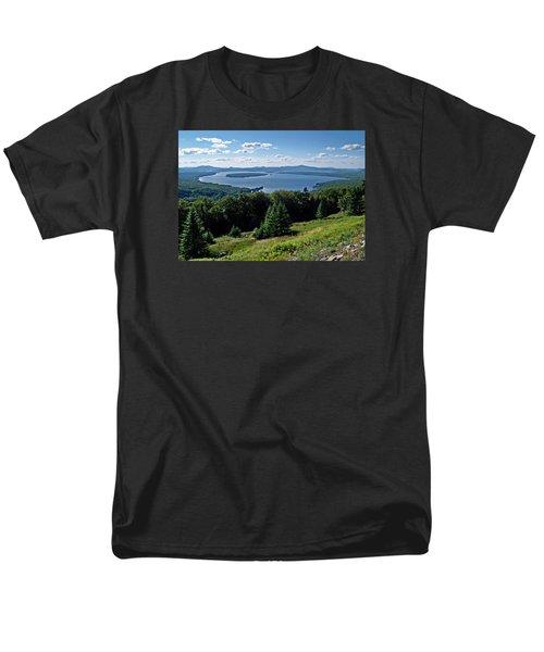 Height Of The Land Overlooking Mooselookmeguntic Lake Men's T-Shirt  (Regular Fit) by Joy Nichols