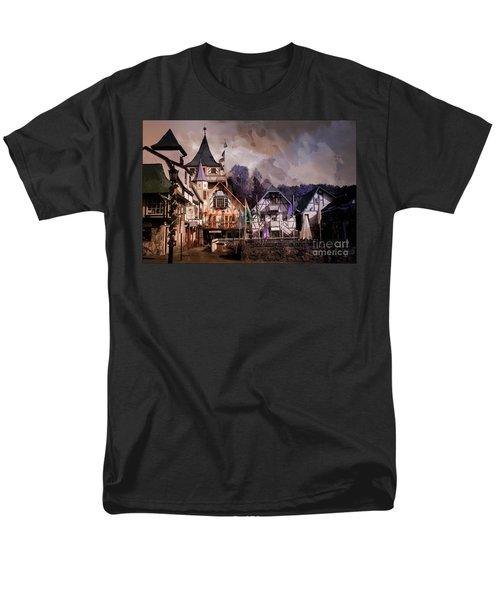 Helen Georgia Men's T-Shirt  (Regular Fit) by Bob Pardue