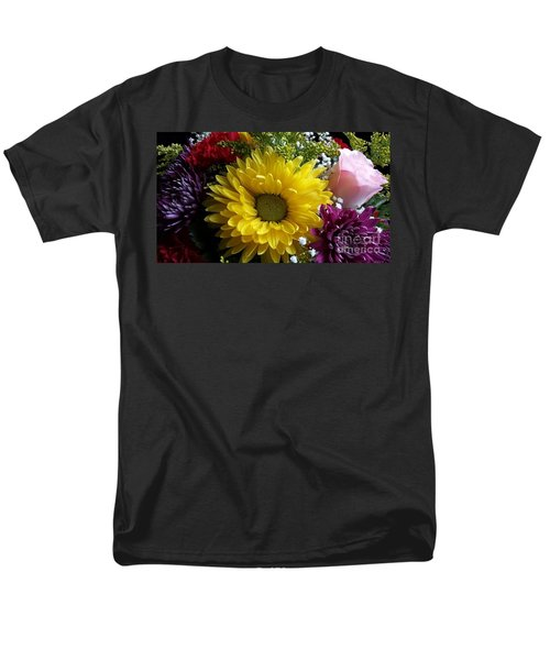 Hello Sunshine Men's T-Shirt  (Regular Fit) by Becky Lupe