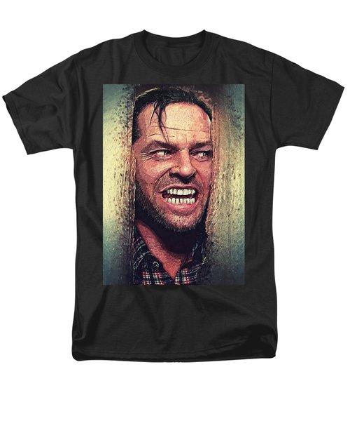 Here's Johnny - The Shining  Men's T-Shirt  (Regular Fit) by Taylan Apukovska