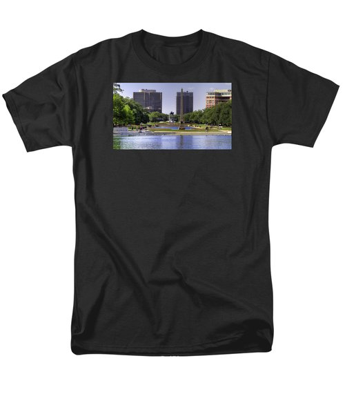 Hermann Park Men's T-Shirt  (Regular Fit) by Tim Stanley