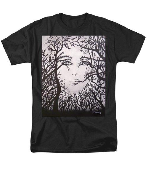 Hidden Face Men's T-Shirt  (Regular Fit)