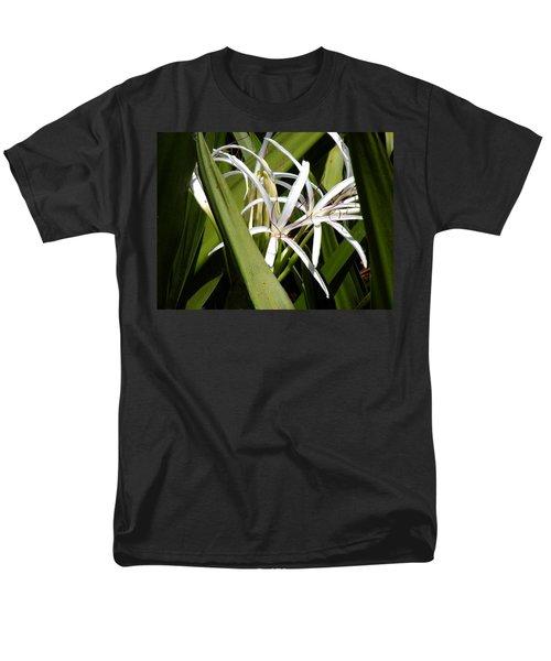 Men's T-Shirt  (Regular Fit) featuring the photograph Hidden Swamp Lily by Rosalie Scanlon