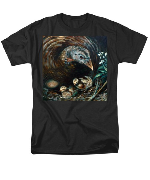 Men's T-Shirt  (Regular Fit) featuring the painting Hidden Treasures by Suzanne McKee