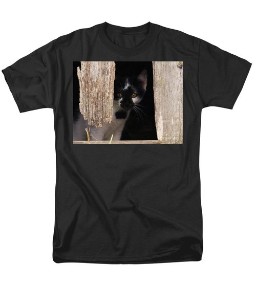 Men's T-Shirt  (Regular Fit) featuring the photograph Hide And Seek by J L Zarek