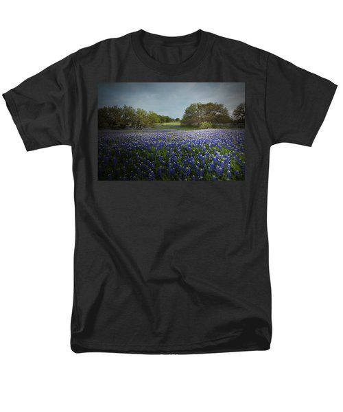 Hill Country Ranch Men's T-Shirt  (Regular Fit) by Susan Rovira
