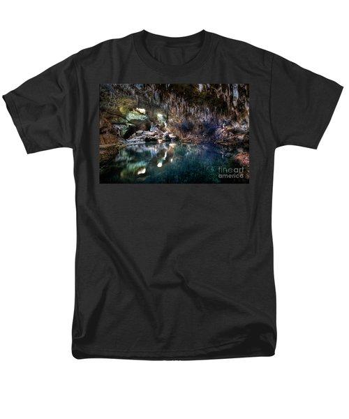 Men's T-Shirt  (Regular Fit) featuring the photograph Hinagdanan Cave by Yhun Suarez