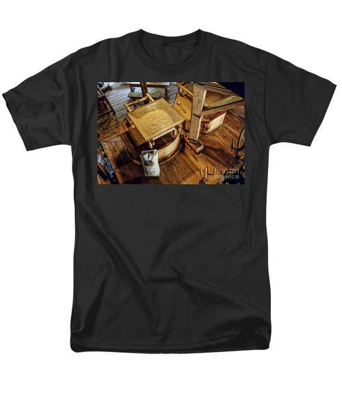 Men's T-Shirt  (Regular Fit) featuring the digital art Historic Bale Mill by Jason Abando