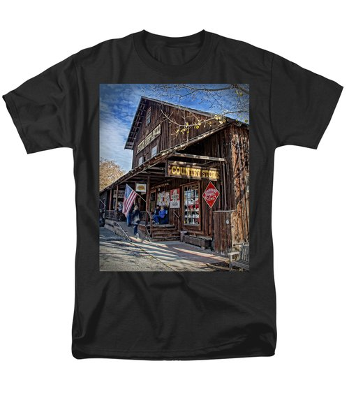 Historic Butte Creek Mill Men's T-Shirt  (Regular Fit) by Mick Anderson