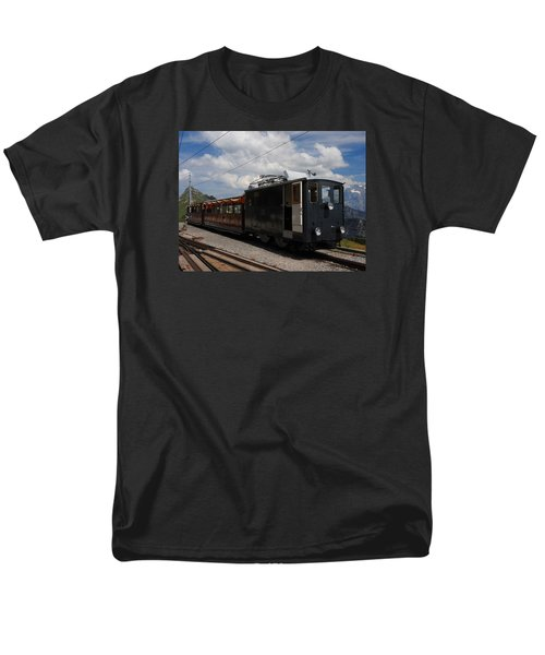 Historic Cogwheel Train  Men's T-Shirt  (Regular Fit) by Ernst Dittmar