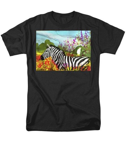 Hitching A Ride Men's T-Shirt  (Regular Fit)