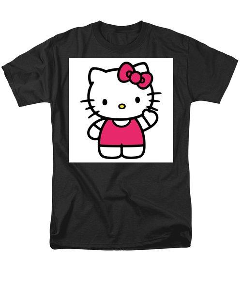 Hkitty Men's T-Shirt  (Regular Fit) by David Lane
