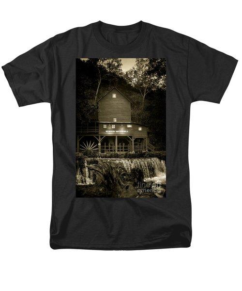 Hodgson Gristmill Men's T-Shirt  (Regular Fit) by Robert Frederick