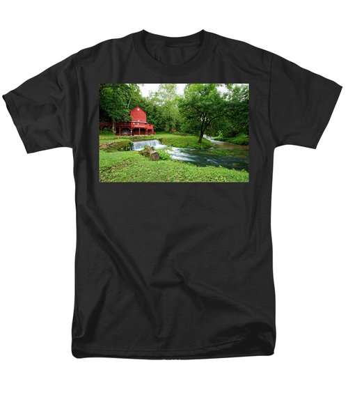 Hodgson Water Mill And Spring Men's T-Shirt  (Regular Fit) by Cricket Hackmann