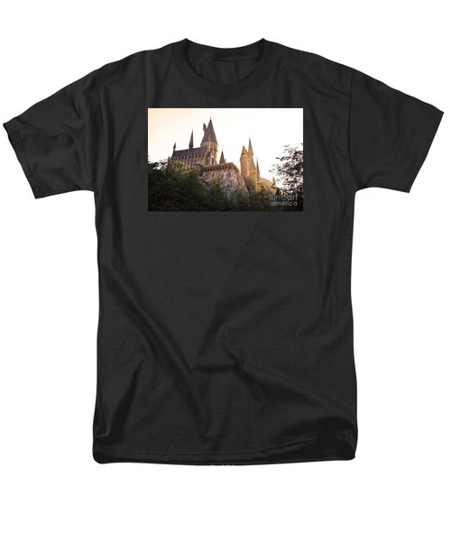 Hogwarts Dusk Men's T-Shirt  (Regular Fit) by Rebecca Parker