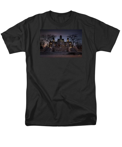 Hogwarts - Hall Of Languages Men's T-Shirt  (Regular Fit) by Everet Regal