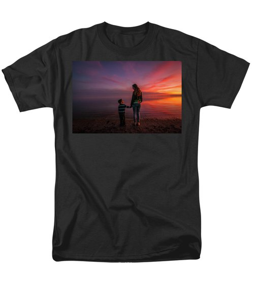 Hold My Hand Little Brother Men's T-Shirt  (Regular Fit) by Ralph Vazquez