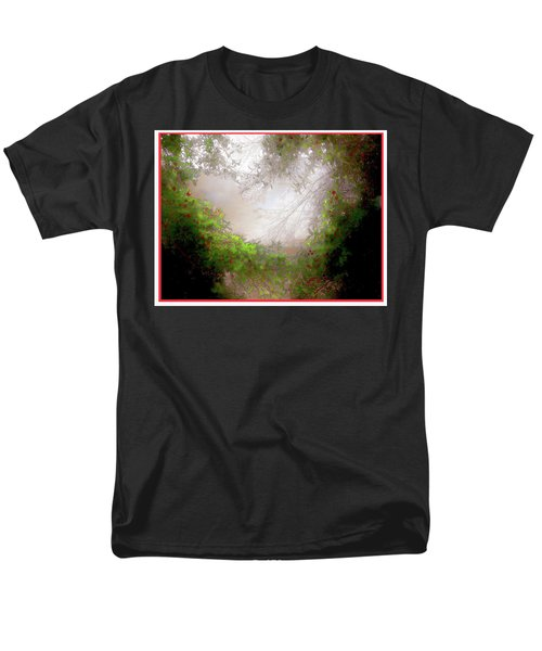 Men's T-Shirt  (Regular Fit) featuring the photograph Holly Heart by Bonnie Willis
