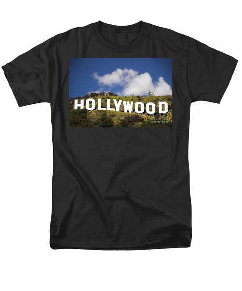 Hollywood Sign Men's T-Shirt  (Regular Fit) by Anthony Citro