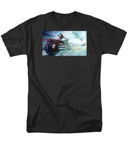 Men's T-Shirt  (Regular Fit) featuring the photograph Holy Crap That Is Fast. by Lawrence Christopher