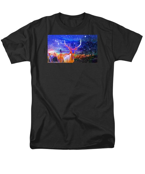 Men's T-Shirt  (Regular Fit) featuring the photograph Home For The Holidays by Mike Breau