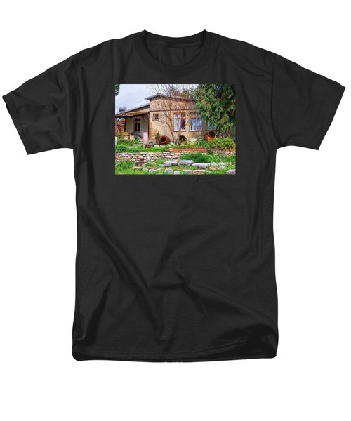 Men's T-Shirt  (Regular Fit) featuring the photograph Home In Greece by Roberta Byram