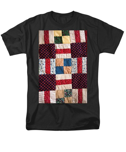 Homemade Quilt Men's T-Shirt  (Regular Fit) by Christopher Holmes