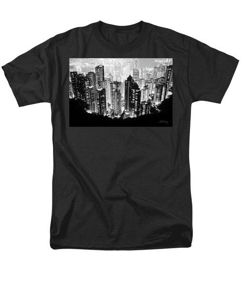 Hong Kong Nightscape Men's T-Shirt  (Regular Fit) by Joseph Westrupp