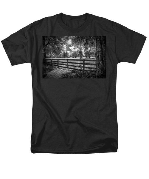 Men's T-Shirt  (Regular Fit) featuring the photograph Horse Country by Louis Ferreira