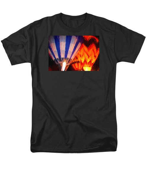 Men's T-Shirt  (Regular Fit) featuring the photograph Hot Air Balloon by Kathy Bassett