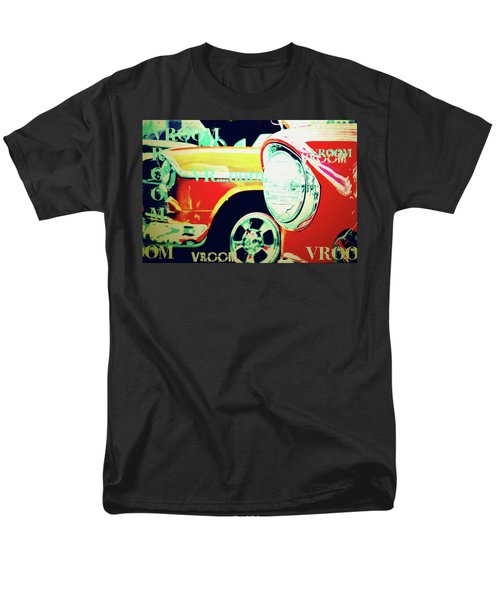 Hot Rods Go Vroom Vroom Men's T-Shirt  (Regular Fit) by Toni Hopper