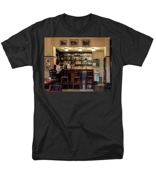 Hotel Presidente Bar Havana Cuba Men's T-Shirt  (Regular Fit) by Charles Harden