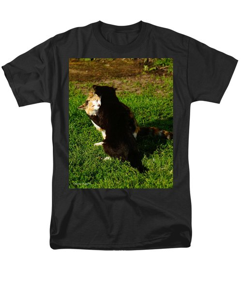 Men's T-Shirt  (Regular Fit) featuring the photograph Hugs 2 by Steven Clipperton