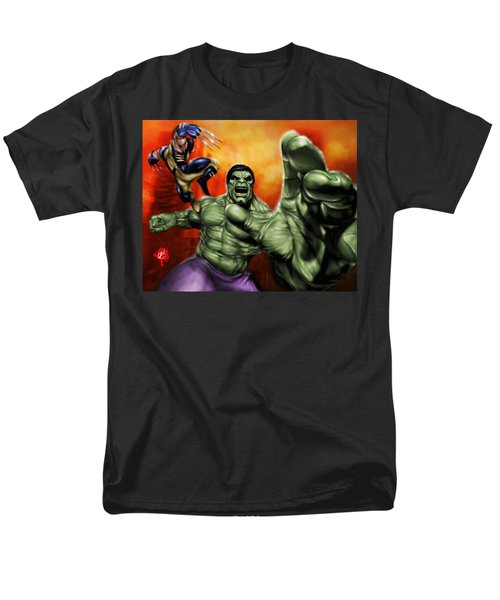Hulk Men's T-Shirt  (Regular Fit) by Pete Tapang