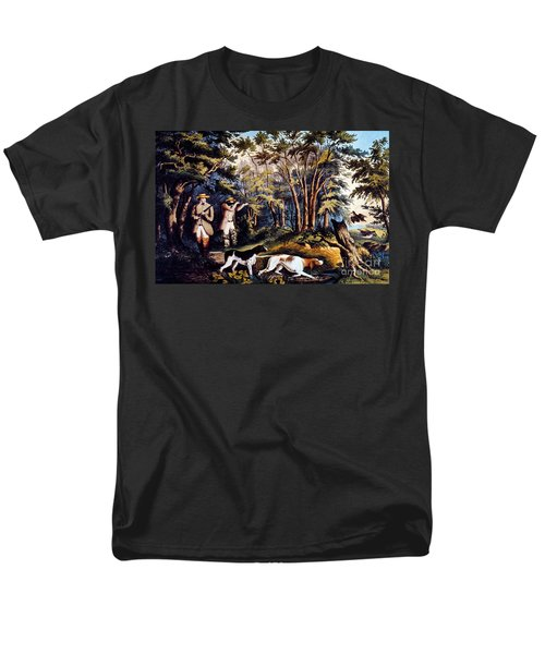 Hunting: Woodcock, 1852 Men's T-Shirt  (Regular Fit) by Granger