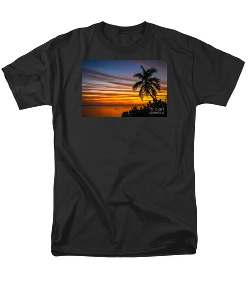 Hutchinson Island Sunrise #1 Men's T-Shirt  (Regular Fit) by Tom Claud