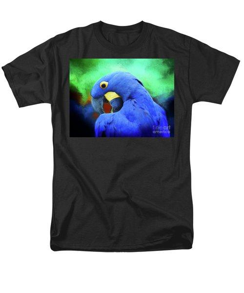 Hyacinth Mcaw Men's T-Shirt  (Regular Fit) by Suzanne Handel