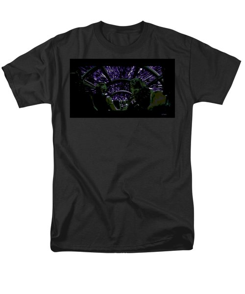 Hyper Space Men's T-Shirt  (Regular Fit) by George Pedro