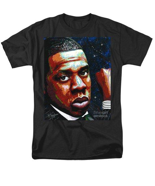 I Am Jay Z Men's T-Shirt  (Regular Fit) by Maria Arango