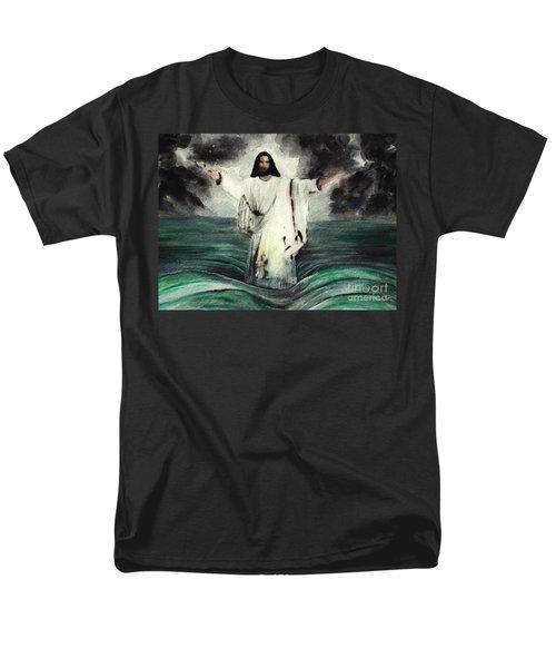I Am Will Calm Your Sea Men's T-Shirt  (Regular Fit) by Hazel Holland