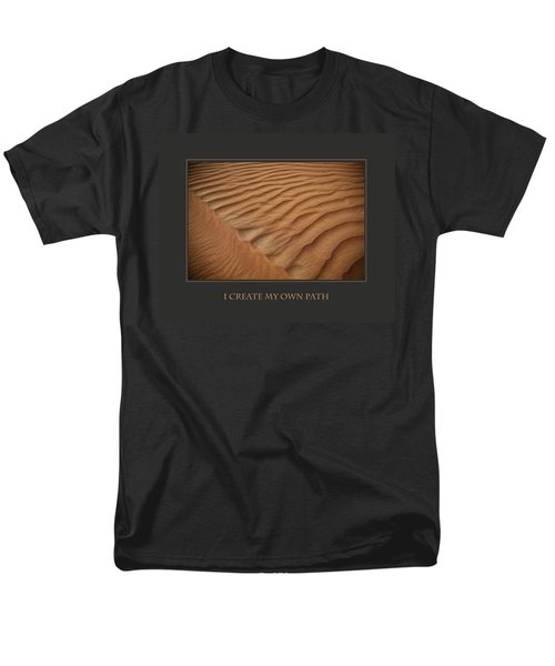 Men's T-Shirt  (Regular Fit) featuring the photograph I Create My Own Path by Donna Corless