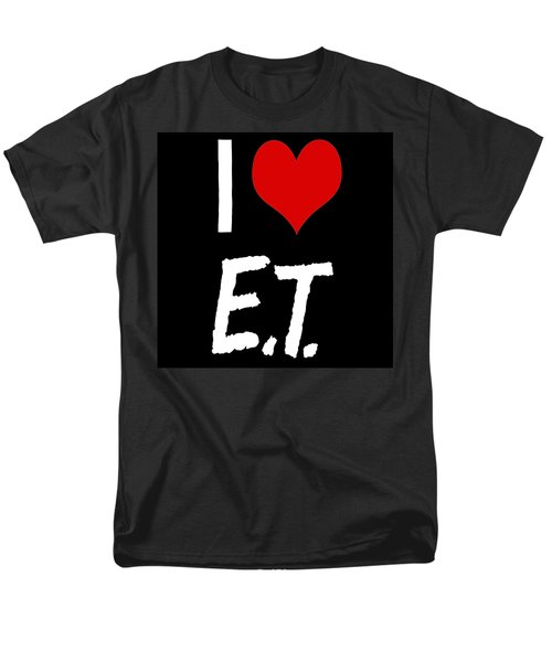 I Love E.t. Men's T-Shirt  (Regular Fit) by Gina Dsgn
