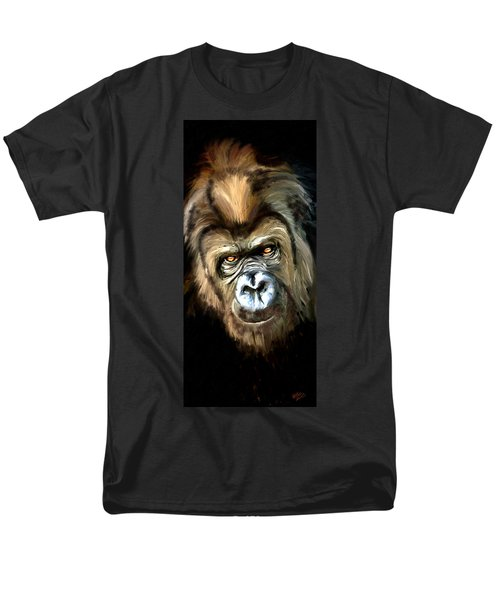Gorilla Portrait Men's T-Shirt  (Regular Fit)