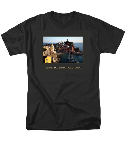 Men's T-Shirt  (Regular Fit) featuring the photograph I Surrender To My Higher Good by Donna Corless
