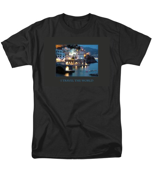 Men's T-Shirt  (Regular Fit) featuring the photograph I Travel The World Amalfi by Donna Corless