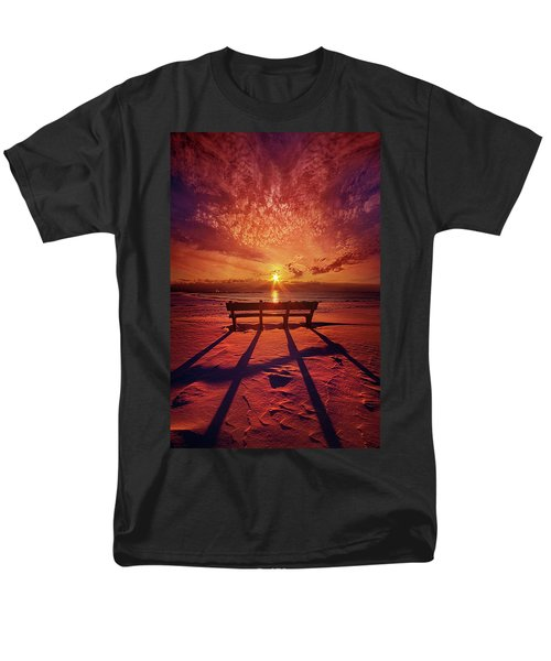 I Will Always Be With You Men's T-Shirt  (Regular Fit) by Phil Koch