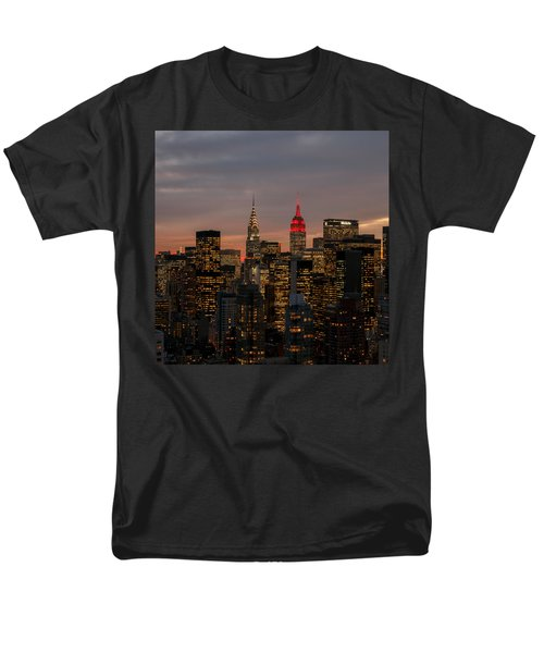 Icons Of Nyc Men's T-Shirt  (Regular Fit) by Anthony Fields